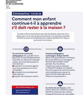 03 03 2020 COVID 19 MAIRIE LE PORGE INFORMATION ECOLE MINISTERE 2020-03-03 121931