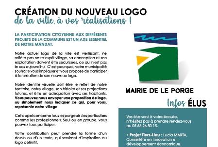 13 11 2020 CREATION NOUVEAU LOGO MAIRIE LE PORGE LE MAG #2