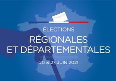 2021 20 & 27 JUIN LE PORGE ELECTIONS REGIONALES ET DEPARTEMENTALES
