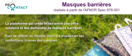AFNOR MASQUES BARRIERE MAIRIE LE PORGE
