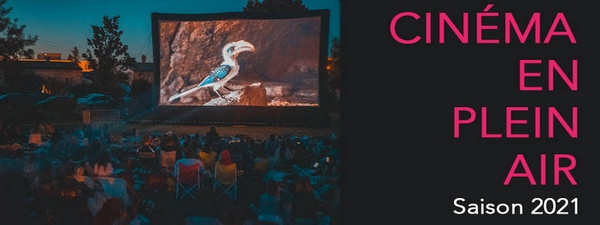 Le Porge été 2021 cinéma plein air