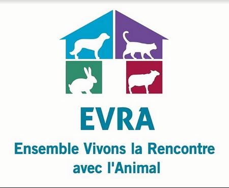 EVRA LOGO ENSEMBLE VIVONS LA RENCONTRE AVEC L ANIMAL LE PORGE