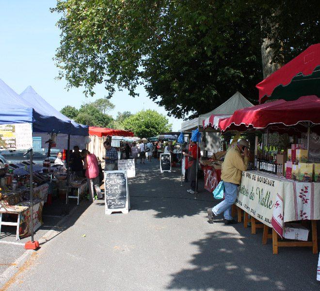 marchés ville le porge