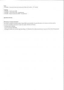 MAIRIE DE LE PORGE Ordre du Jour CONSEIL MUNICIPAL LE 15 SEPTEBRE 2020 PAGE 2