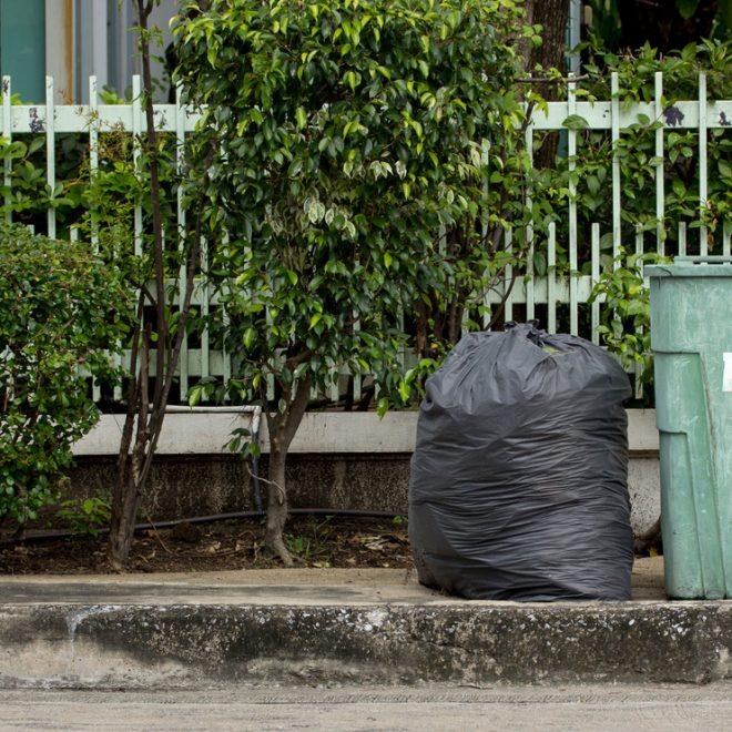 ordures menageres ville le porge