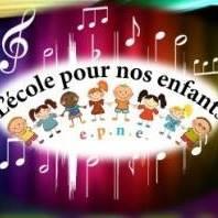 LE PORGE EPNE ASSOCIATION LOGO LECOLE POUR NOS ENFANTS