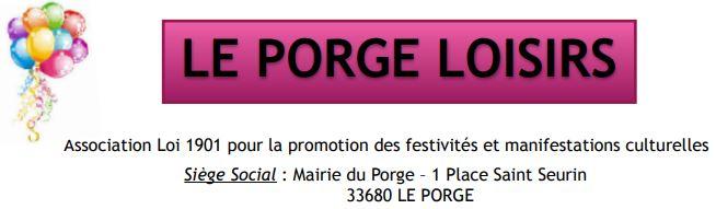 LE PORGE LOISIRS