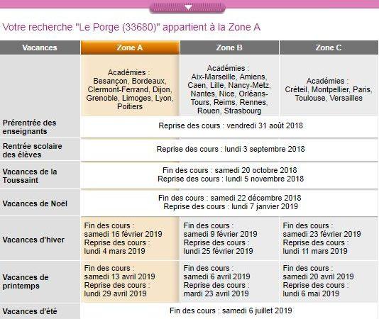 Le Porge Mairie information Rentrée scolaire 2018 2019 college de lege
