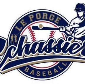 Les Echassiers du Porge Baseball et Softball Logo 2018 creation