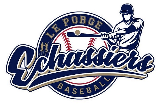Les Echassiers du Porge Baseball et Softball Logo 2018 creation