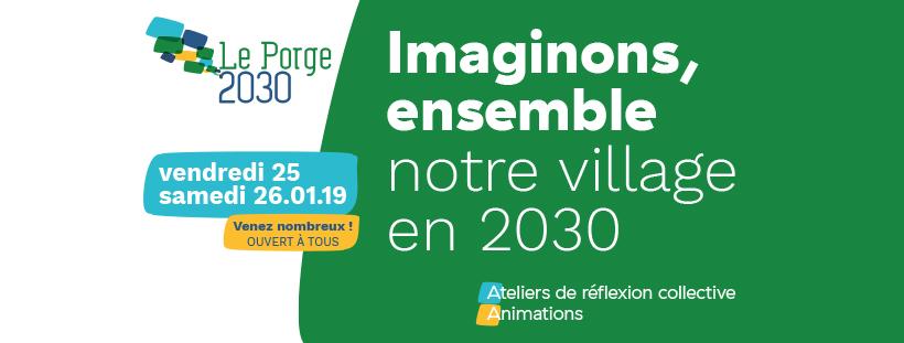 Le Porge Imaginons ensemble notre village en 2030