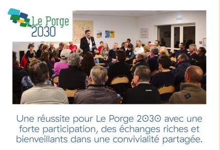 Le Porge 2030 une réussite