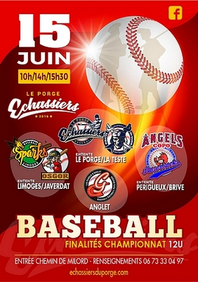 2019 06 15 Le Porge baseball finélités 12U