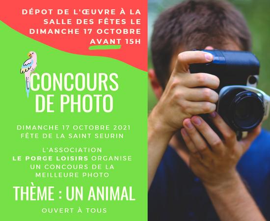 2021 ADULTES CONCOURS PHOTOS LE PORGE SAINT SEURIN