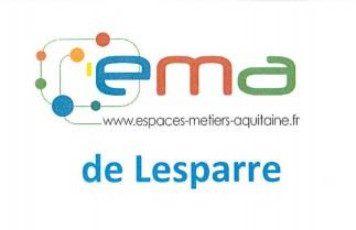 EMA LESPARRE LOGO ESPACES METIERS AQUITAINE