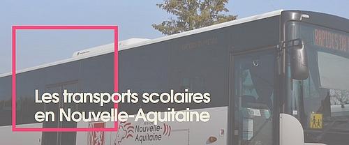 18 05 2020 TRANSPORTS NOUVELLE AQUITAINE LE PORGE COLLEGES bus