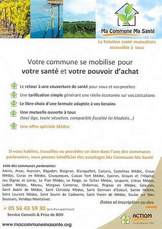 MACOMMUNEMASANTE MUTUELLE LE PORGE PARTENAIRE 2020 09 1