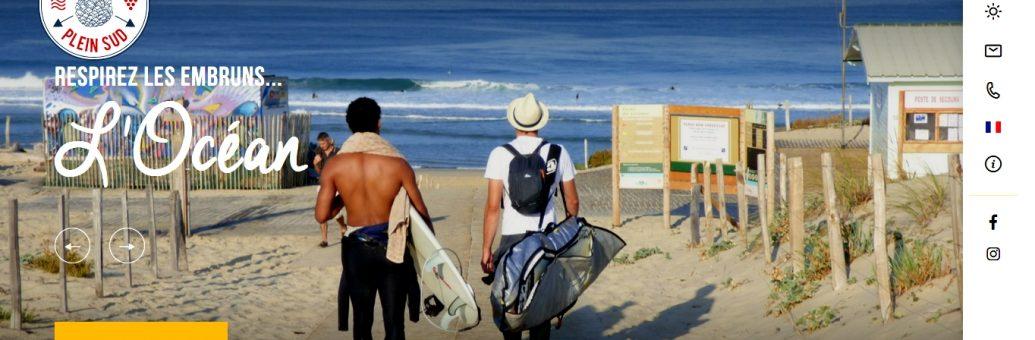 OFFICE DE TOURISME MEDOC PLEIN SUD LE PORGE PLAGE OCEAN