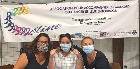 Association Celine Le Porge Octobre rose Forum Associations 2020 Le Porge