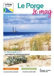 Le Porge Le Mag #2 Journal municipal Commune Le Porge Novembre 2020