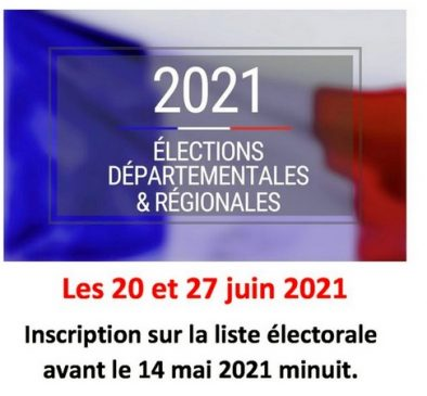 20 27 juin 2021 LE PORGE ELECTIONS DEPARTEMENTALES ET REGIONALES
