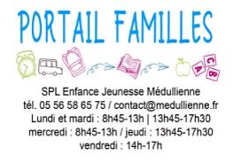 09 06 2021 ACCUEIL VACANCES PORTAIL FAMILLES SPL ENFANCE JEUNESSE MEDULLIENNE