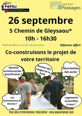 26 09 2021 LE PORGE REUNION PUBLIQUE POPSU 26 Septembre